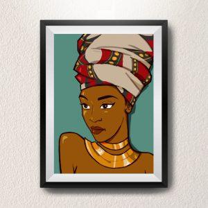 tableau-africaine