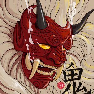 Demon japonais